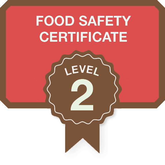 Food Safety Certificate - Level two